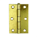 brass plated hinges